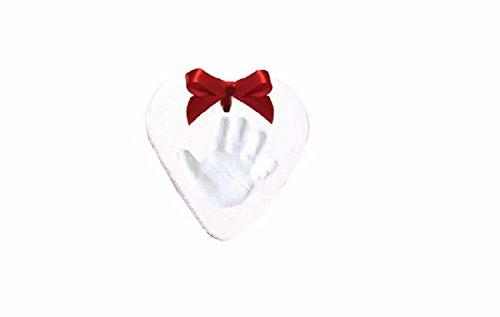 DEI Heart Shaped Handprint Ornament Kit for Babies First -