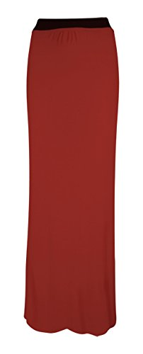 style longue Rust bohmien Femme Flirty Marron Wardrobe Jupe Ttqff7