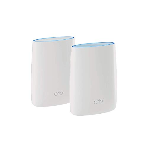 NETGEAR Orbi Tri-band Whole Home Mesh WiFi System with 3Gbps