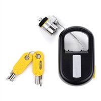 - Kensington MicroSaver Keyed Retractable Notebook Lock