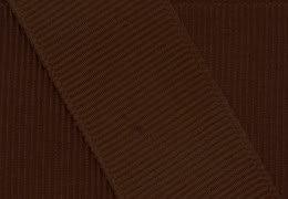 Chocolate Brown Grosgrain - Grosgrain Ribbon 7/8 Inch 20 Yards Milk Chocolate Brown