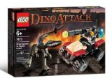 LEGO Dino Attack 7473 Street Sprinter vs. Mutant Lizard