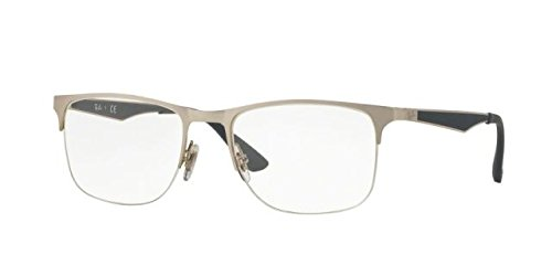 Eyeglasses Ray-Ban Optical RX 6362 2595 SHINY - Measurements Ban Ray