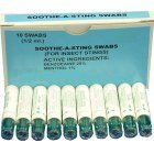 Soothe-A-Sting Swabs (Box of 10)