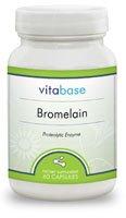 Bromelain (400 mg) 60 Capsules per Bottle (6 Pack) by Vitabase (Image #2)