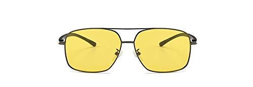 Protección Sol Polarizador Ligero Unisex De Marco Estilo Moda Envolvente Hd Gafas Uv400 Clásico Jzhyjj Visión Personalidad Excursionista Vintage Metal XwEpyq