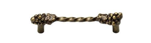 Carpe Diem Hardware 522-3 Bacchus 4-Inch Center Pull, Antique Brass
