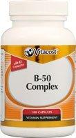 Vitacost B-50 Complex -- 100 Capsules