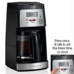 Voice Activated Digital 12 Cup Coffeemaker