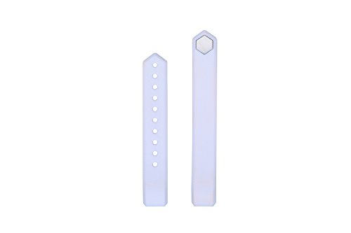 Lcstream Replacement Straps for ID115HR or ID115 (White)