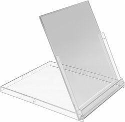 Price comparison product image MSBS10CA - Standard Empty Calendar Jewel Stand-Up Boxes - Clear - (25 Pack)