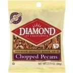 Diamond Chopped Pecans 2.25 OZ (Pack of 24)