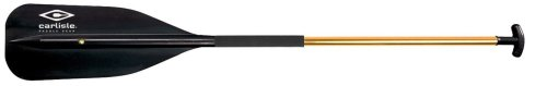 Carlisle Golden Light Aluminum Canoe Paddle with Padded Shaft and T-Grip (Black, 60-Inch), Outdoor Stuffs