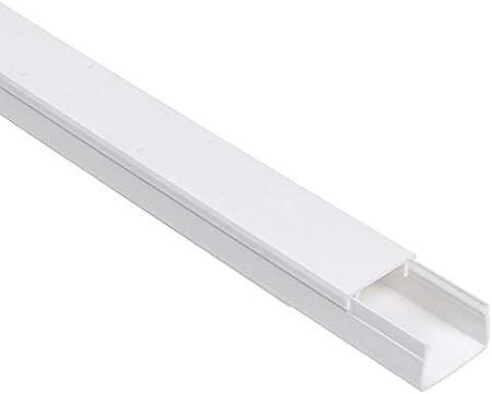 20m Kabelkanal 30x20 Mm Pvc Farbe Weiß Baumarkt