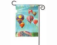 Balloons Magnet (Magnet Works MAIL32318D Hot Air Balloon Garden Flag)