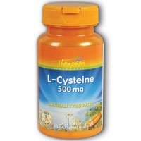 L-Cysteine, 500 MG, 30 caps by Thompson (Pack of 3) (L-cysteine 500 30 Caps Mg)