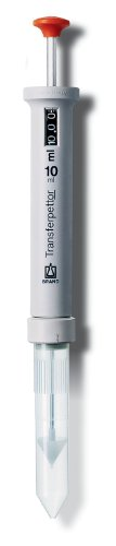 BrandTech 2702912 Transferpettor Positive Displacement Pipette, 2-10ml Volume