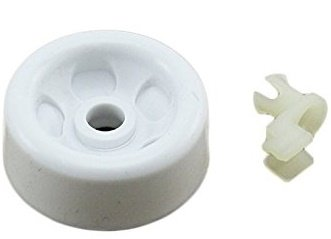 Replacement Roller & Axle For WD12X271 Fits GE Kenmore Dishwasher Dish Rack