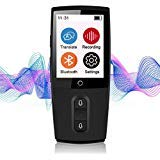 Bestrans Voice Translator, Smart Language Translator Device WiFi, Accurate Synchronous Translation in 43 Languages, Best Helper for Traveling Abroad Learn and Amusement, Best Festival Gifts (Black)