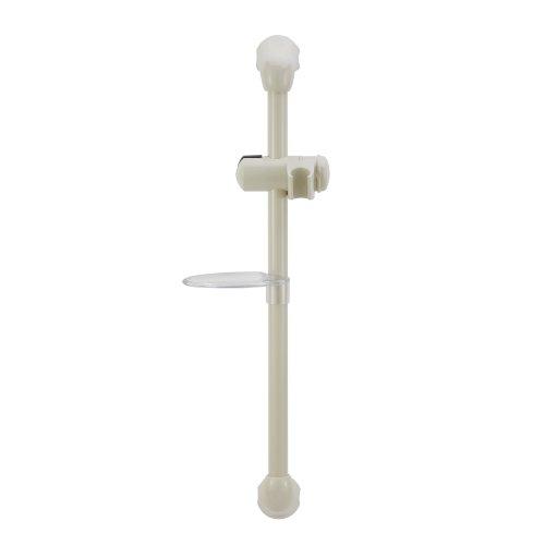 (Dura Faucet (DF-SA300CL-BQ RV Shower Slide Bar (Bisque Parchment))