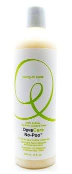 Deva Care No Poo Cleanser Shampoo 12 oz