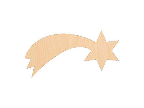 """(Wicked Good Decor Laser Cut Shape – Shooting Star – Large – 20"""")"""