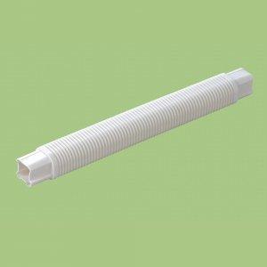 10本セット 配管化粧カバー コーナージャバラ 1m 66タイプ グレー KKJ-65100-G_set