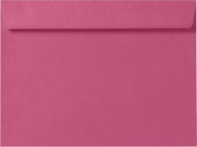 6 x 9 Booklet Envelopes - Magenta Pink (50 Qty.)