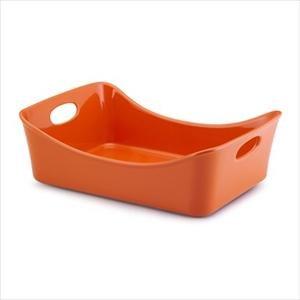 Rachael Ray 9 x 13 inch Rectangular  inchLasagna Lover inch Pan (Orange)