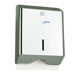 Dispensador de toallas de papel Jofel Z600 acero inoxidable INOX: Amazon.es: Salud y cuidado personal