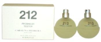 2 Women Tester (Women Carolina Herrera 212 EDT Spray (Tester) 2 x 1.7 oz 1 pcs sku# 1759047MA)