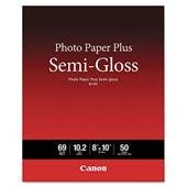 Price comparison product image CANON WIDE FORMAT 1686B062 Photo Paper Plus Semi-Gloss,  69 lbs.,  8 x 10,  50 Sheets / Pack