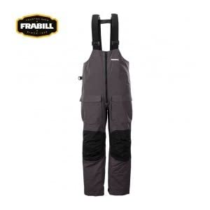 Frabill F2 Surge Rainsuit Bib, 3X-Large, Grey