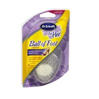 Dr. Scholl's for Her Ball of Foot Cushion - 2 Pair - Her Gel Heel