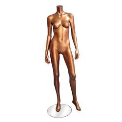 New Bronze Female Headless Mannequin Clothes Display 1
