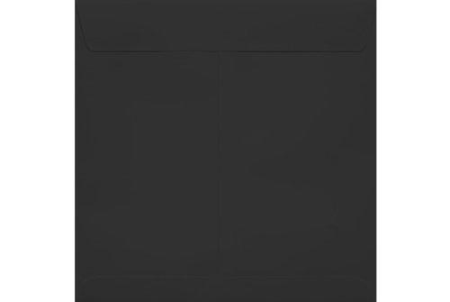 8 x 8 Square Envelopes - Midnight Black (50 Qty.)