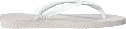 Havaianas Unisex Top Flip Flops, White, 14.5 UK (49/50 EU) (47/48 BR)