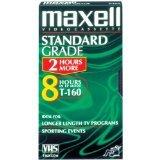 Maxell T-160 Std Standard Grade Videocassette