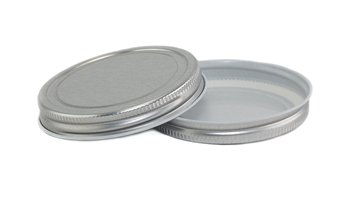 EAP Innovations Silver CT Lid for Mason Jars - Pack of 12