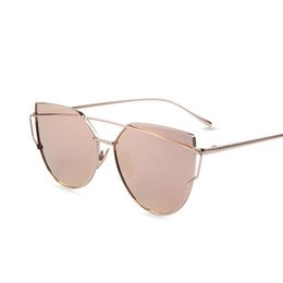 959a6b85255 Buy Mirror Flat Lens Cat s Eye Designer Sunglasses Women s Designer ...