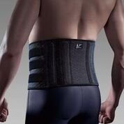 LP Coolprene Extreme Adjustable Back Support (Black; Unisex; One Size Fits Most) by PIL