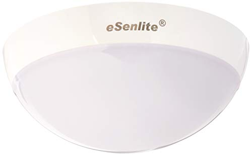 eSenlite Ceiling Wall Surface Mount Radar/Doppler Motion Activated LED Mini Light Fixture, up to 900lm for Residential Commercial and Industrial Lighting Applications