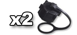 (2) Small Vent Cap for VP Racing Fuels 5 gallon gas jug and possibly other brands 24mm (Racing Fuel)