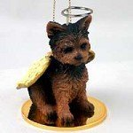(YORKSHIRE TERRIER Dog YORKIE Puppy Cut ANGEL Miniature Christmas Ornament NEW DTA131 by Conversation)