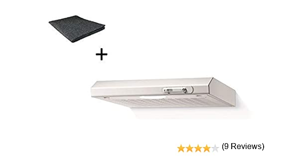 respekta DH520WL+MI150KN - Campana extractora (50 cm, incluye filtro de carbón activo): Amazon.es: Grandes electrodomésticos