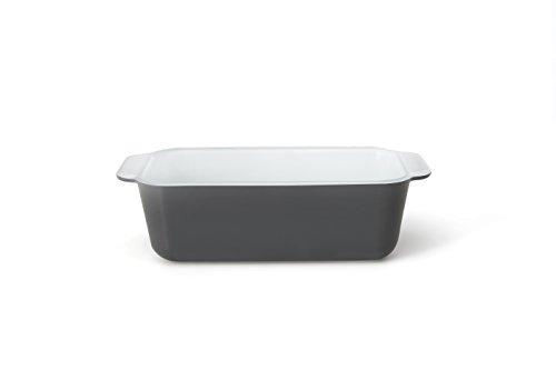 Creo SmartGlass Cookware, 8.5 inch Loaf Pan, Brooklyn Grey