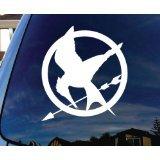 Mockingjay Hunger Games Car Window Vinyl Decal Sticker