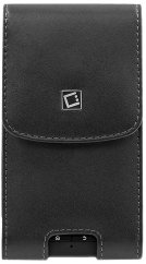 Cellet Noble Pouch with Removable Spring Belt Clip for Motorola Droid X - Black