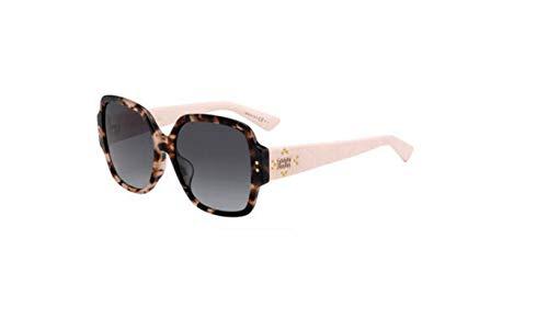 dbf20d3c0662b Authentic Christian Dior Ladydiorstuds 5F 001K 9O Havana Light Pink  Sunglasses