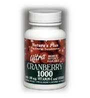 Nature Plus - Ultra Canneberge 1000/Sust.Rel, 1000 mg, 60 comprimés.